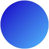 cercle bleu