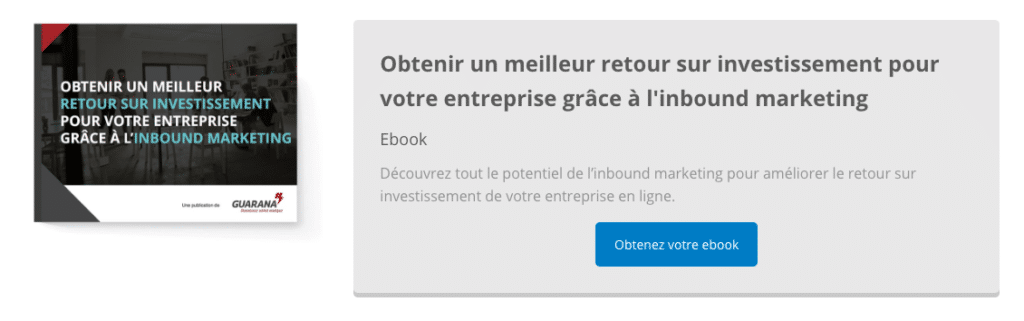 format offre - ebook